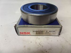 NSK Rubber Shielded Bearing 6307VVC3E 6307V New