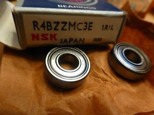 Lot of 2 NSK Bearing R4BZZMC3E SRIL Japan 2 Bearings in one Box