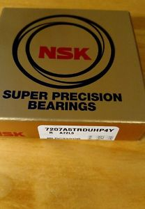 NSK 7207A5TRDUHP4Y (OLD 7207A5TYDUHP4) 35 mm x 72 mm x 34 mm PRECISION BEARING