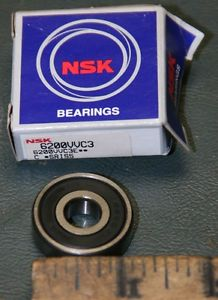 LOT of (3) NSK Bearings 6200VVC3