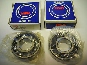 NSK 6203VC3 BALL BEARINGS 17MM X 40MM X 12MM (SET OF 2) NEW CONDITION IN BOX
