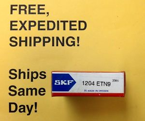 SKF 1204 ETN9 – FREE Same Business Day EXPEDITED Shipping!