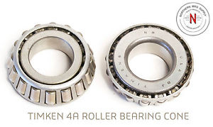 """TIMKEN 4A TAPERED ROLLER BEARING CONE, .750"""" ID, .469"""" WIDTH"""