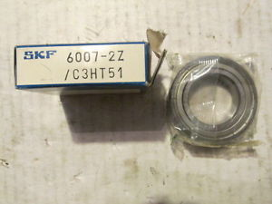 NEW Lot Of One (1) SKF 6007 2zjem ue01 Bearings SKF 6007 2zjem