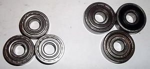 Ball bearings, SKF 6000 RSZ (3), Nachi, Peer, Asahi 6200 ZZ (3)_____3653/7