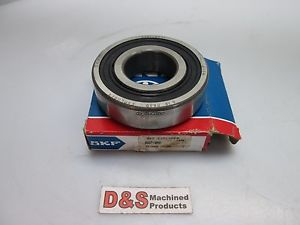 "SKF 6307-2RS1 Ball Bearing 1-3/8"" Inner, 3-1/8"" Outer"