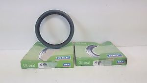 LOT OF (2) NEW OLD STOCK! SKF OIL SEALS 32330