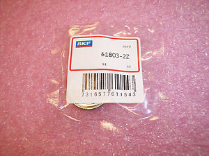 61803-2Z SKF BALL BEARINGS 17X26X5…FREE SHIPPING