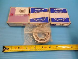 LOT OF 3pcs NSK HR 32206J TAPER ROLLER BEARINGS INDUSTRIAL TRANSMISSION