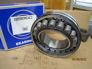 NSK Extra Large Self Aligning Ball Bearing 22220EAKE4C3 HPS 22220EAKE4C3 New