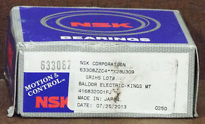 1 NEW NSK 63308ZZC4 BALL BEARING ***MAKE OFFER***
