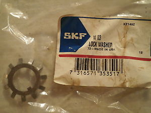 SKF W03 Lock washer