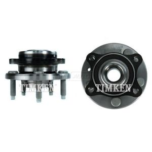 TIMKEN Front Wheel Hub & Bearing Pair Set For Mercury Sable Ford Freestyle