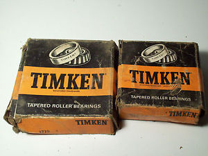 Radial Bearing Timken includes 3777 Cone and 3720 Cup