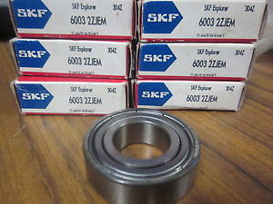 NEW SKF EXPLORER BEARINGS 6003 2ZJEM ……………………..XT-27G