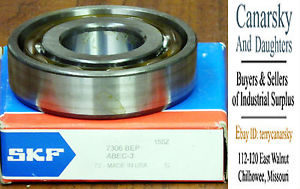 1 NEW SKF 7306BEP BEARING ***MAKE OFFER***