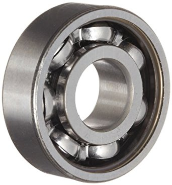 SKF 6000-Z Deep Groove Ball Bearing, Quiet Running, Single Shield, Standard Cage, Normal Clearance, 10mm Bore , 26mm OD, 8mm Width