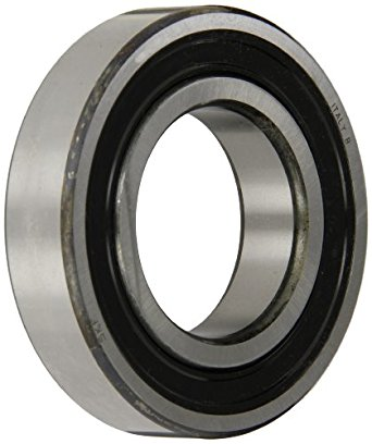 SKF 6209-2RS1/C4 Radial Bearing, Single Row, Deep Groove Design, ABEC 1 Precision, Double Sealed, Contact, C4 Clearance, Steel Cage, 45mm Bore, 85mm OD, 19mm Width