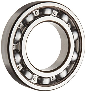 SKF Light Series Deep Groove Ball Bearing, Deep Groove Design, ABEC 1 Precision, Open, Steel Cage, C3 Clearance