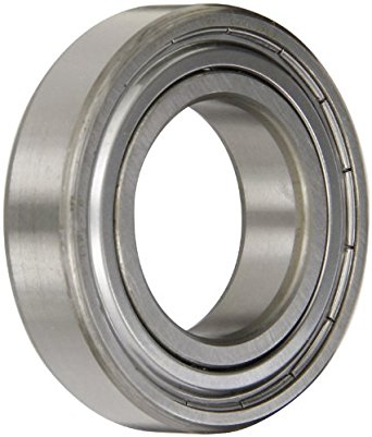 SKF Deep Groove Ball Bearing, Single Shield, Standard Cage, Normal Clearance