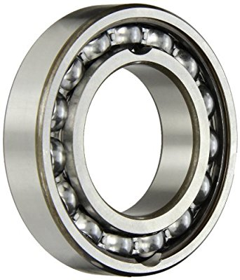 SKF Radial Bearing, Single Row, Deep Groove Design, Filling Notch, Maximum Capacity, ABEC 1 Precision, Open, C3 Clearance, Standard Cage