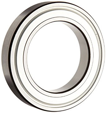 SKF Deep Groove Ball Bearing, Double Shielded, Steel Cage, C3 Clearance