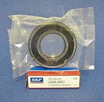 6208-2RS SKF Brand rubber seals bearing 6208-rs ball bearings 6208 rs