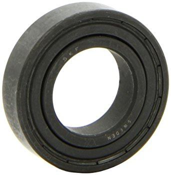 SKF 6005-2Z/VA208 Deep Groove Ball Bearing, Double Shielded, Graphite Segmented Cage, Special Radial High Temperature Clearance, 25mm Bore , 47mm OD, 12mm Width