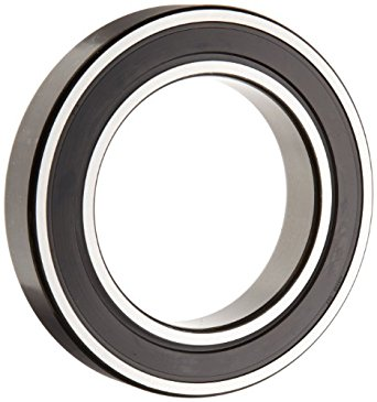 SKF Deep Groove Ball Bearing, Double Sealed, Steel Cage, Normal Clearance
