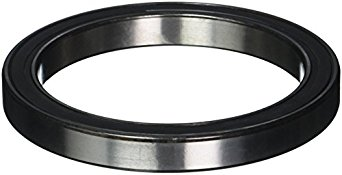 SKF Radial Bearing, Single Row, Deep Groove Design, ABEC 1 Precision, Double Sealed, Contact, Normal Clearance, Steel Cage, Metric