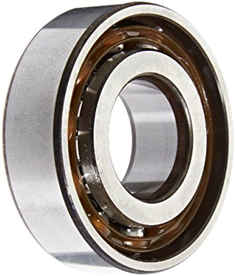 SKF Light Series Angular Contact Ball Bearing, ABEC 1 Precision, 40° Contact Angle, Maximum Capacity, Open, Polyamide/Nylon Cage, Normal Clearance