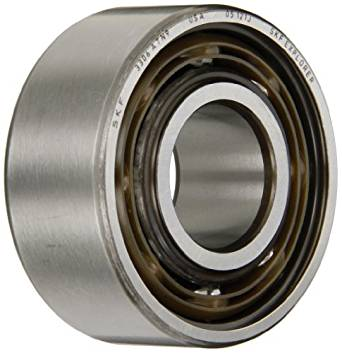 SKF 3302 ATN9 Double Row Ball Bearing, Converging Angle Design, ABEC 1 Precision, Open, Plastic Cage, Normal Clearance, 15mm Bore, 42mm OD, 19mm Width, 16000 rpm Maximum Rotational Speed, 2093.0 pounds Static Load Capacity, 3398.00 pounds Dynamic Load Capacity