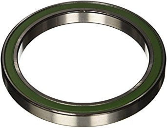 SKF Radial Bearing, Single Row, Deep Groove Design, ABEC 1 Precision, Double Sealed, Non-Contact, Normal Clearance, Steel Cage