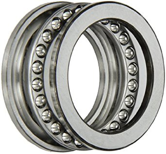 SKF 51110 Single Direction Thrust Bearing, 3 Piece, Grooved Race, 90° Contact Angle, ABEC 1 Precision, Open, Steel Cage, 50mm Bore, 70mm OD, 14mm Width, 14200lbf Static Load Capacity, 5730lbf Dynamic Load Capacity