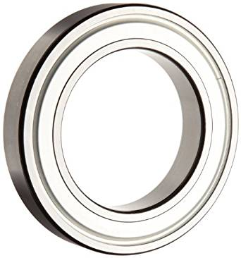 SKF 609-2Z/LHT23 Deep Groove Ball Bearing, Double Shielded, Steel Cage, Normal Clearance, 9mm Bore,  24mm OD, 7mm Width, 373lbf Static Load Capacity, 834lbf Dynamic Load Capacity