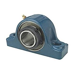 """SKF SYR 1.1/2 H Pillow Block Roller Bearing, TriGard Seals, Non-Expansion Type, Collar Mounted, Inch, 1-1/2"""" Shaft, 1-7/8"""" Base To Center Height, 5"""" Bolt Hole Spacing Width, 16600lbf Dynamic Load Capacity"""