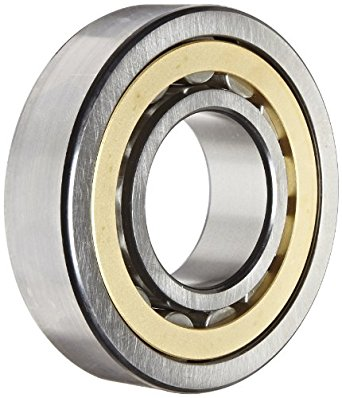 SKF NU 309 ECM/C3 Cylindrical Roller Bearing, Single Row, Removable Inner Ring, Straight Bore, High Capacity, C3 Clearance, Brass Cage, Metric, 45mm Bore, 100mm OD, 25mm Width