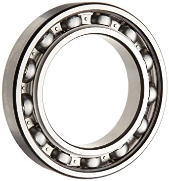 SKF 6000 JEM Series Deep Groove Ball Bearing, Open, Steel Cage, C3 Clearance