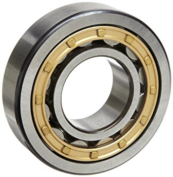 SKF NU 212 ECM/C3 Cylindrical Roller Bearing, Single Row, Removable Inner Ring, Straight Bore, High Capacity, C3 Clearance, Brass Cage, Metric, 60mm Bore, 110mm OD, 22mm Width