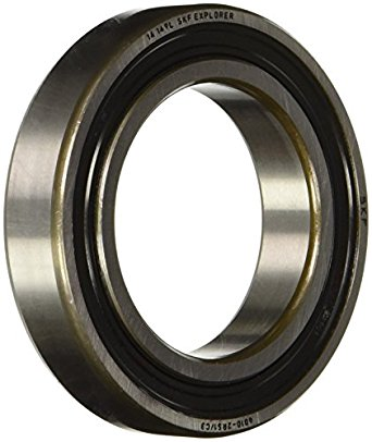 SKF 6010-2RS1/C3 Deep Groove Ball Bearing, Double Sealed, Standard Cage, C3 Clearance, 50mm Bore , 80mm OD, 16mm Width
