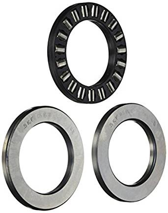 SKF 81120 TN Cylindrical Roller Thrust Bearing, Polyamide/Nylon Cage, Metric, 100mm Bore, 135mm OD, 25mm Width