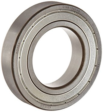 FAG 6202-2ZR-C3 Deep Groove Ball Bearing, Single Row, Double Shielded, Steel Cage, C3 Clearance, Metric, 15mm ID, 35mm OD, 11mm Width, 20000rpm Maximum Rotational Speed, 843lbf Static Load Capacity, 1750lbf Dynamic Load Capacity